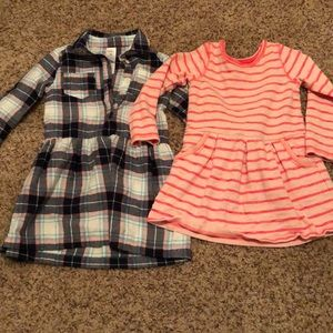 3T dresses Carters and Cat & Jack
